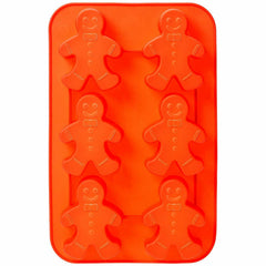 Gingerbread Man 6 Cavity Mould