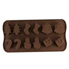 Christmas Silicone Cake Decoration Mould