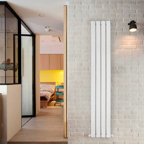 White Horizontal and Vertical Radiators- Flat Panel