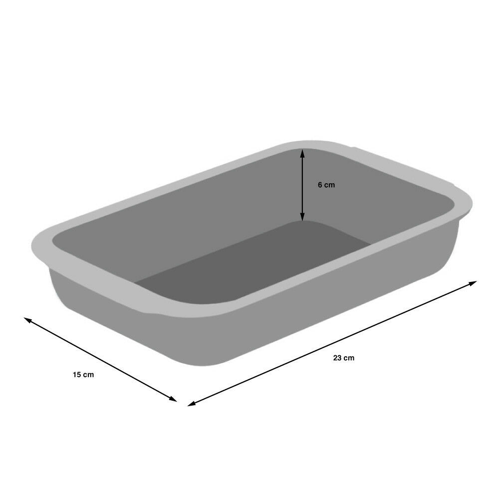ProCook Glass Ovenware Set of 3 Rectangular Dishes
