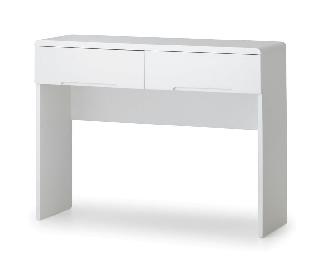 White High Gloss Manhattan Dressing Table