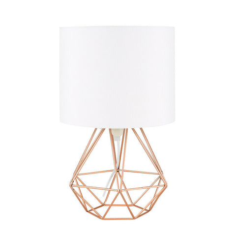 Modern Geometric Bedside Table Lamp