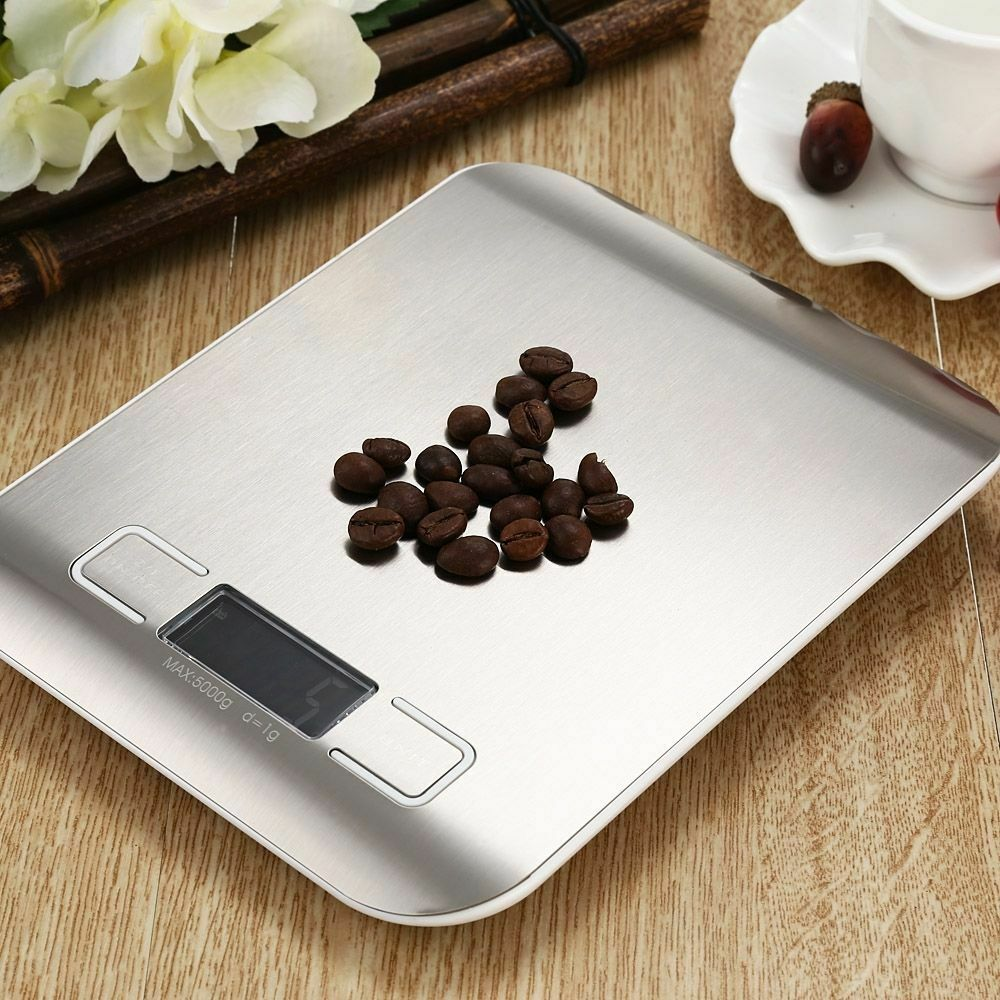 Digital LCD 1g-5000g Kitchen Electronic Balance Scale Food Weight Postal Scales