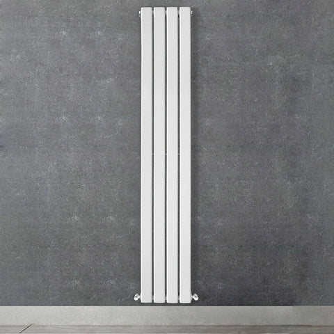 Designer Radiator Vertical Horizontal White Flat Panel Oval Column Panel Rads