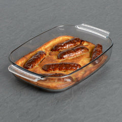 Glass Ovenware Roasting Dish