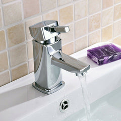 Luxury Bathroom Modern Mixer Tap & Waste