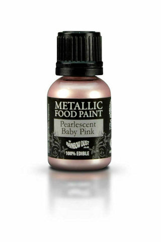 Edible Food Paint Metallic Cake Decorating