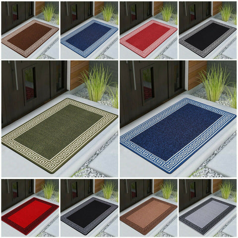 Non Slip Door Mats Doormats Indoor Washable Absorbent Entrance Rug Floor Mat
