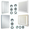 Image of LED Bathroom Mirror Lights Touch Switch Sensor Demister Pad Mirrors by Millhouse