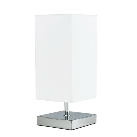 Modern Touch Chrome Table Lamp