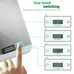 Digital LCD Kitchen Scale