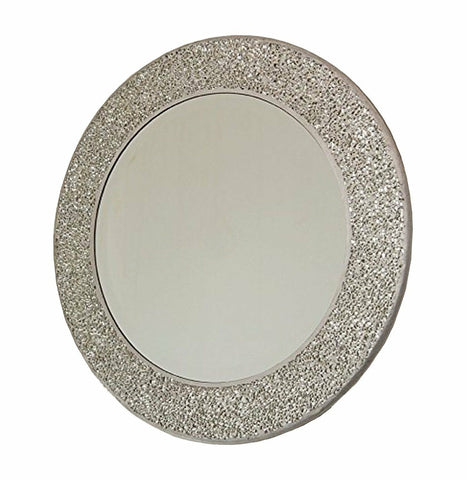 Silver Mirror Mosaic Bathroom Accessories