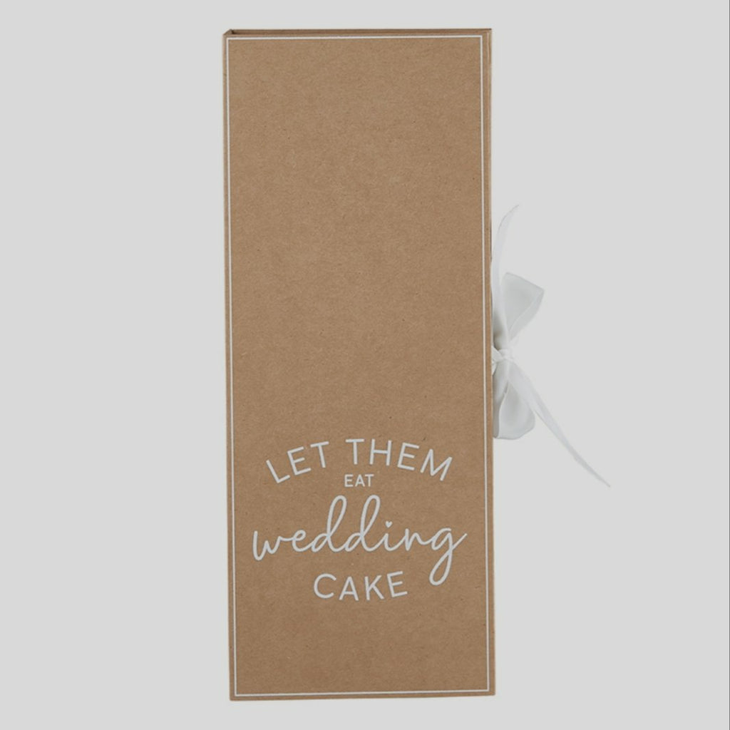 Cardboard Book Set - Wedding Cake Serving