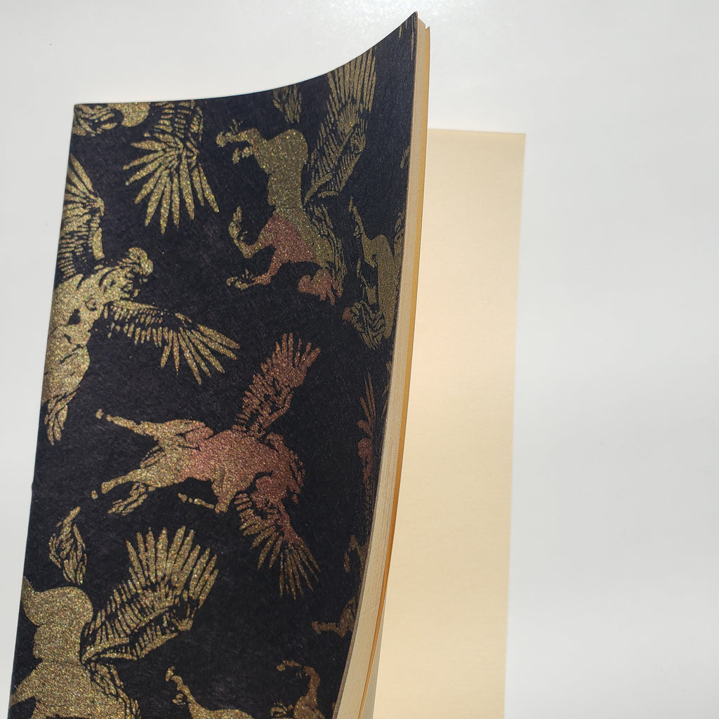 Handmade Notebook - Pegaus
