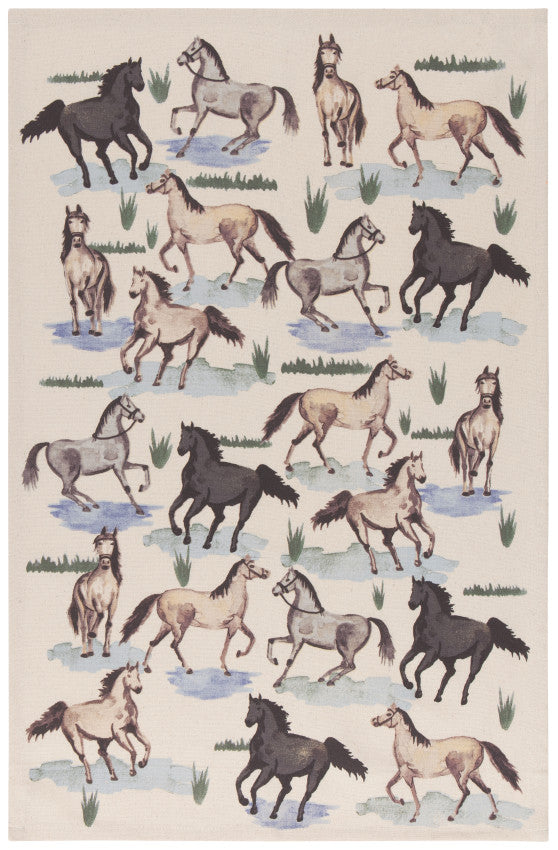 Tea Towel -  All The Pretty Horses Print
