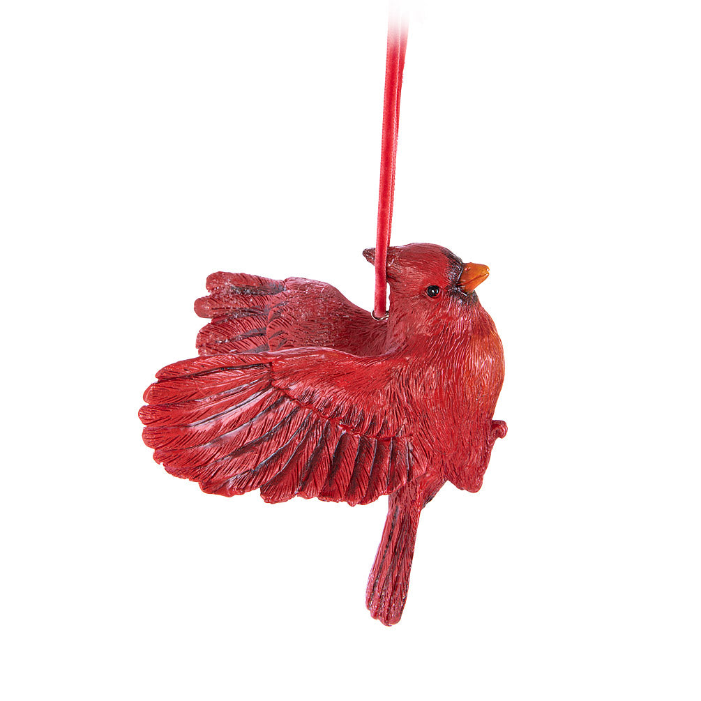 Flying Cardnial Ornament