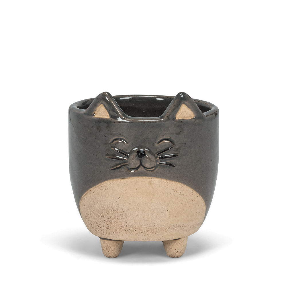 Small Cat on Legs Planter