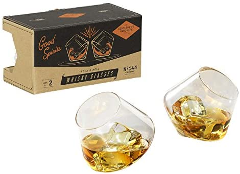 Gentlemen's Hardware Whiskey Glasses