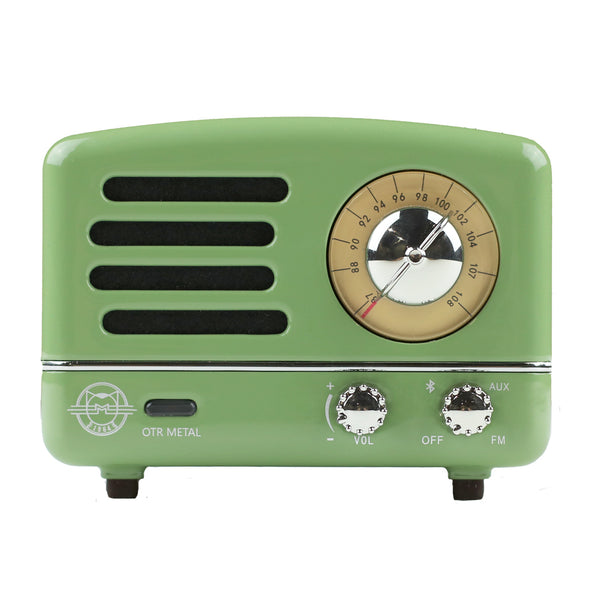 OTR Metal Mint Green Bluetooth Speaker