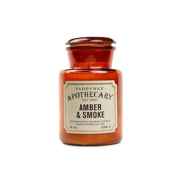 Apothecary - Amber And Smoke 8 oz Candle