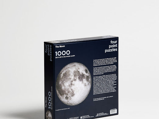The Moon - 1000 Piece Puzzle