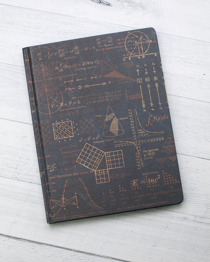 Equations That Changed The World Hard Cover Journal
