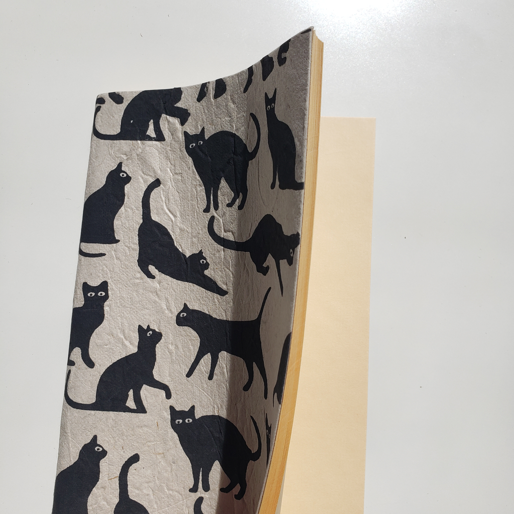 Handmade Notebook - Cats