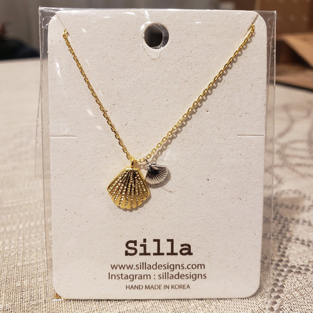 Two Little Seashells Necklace