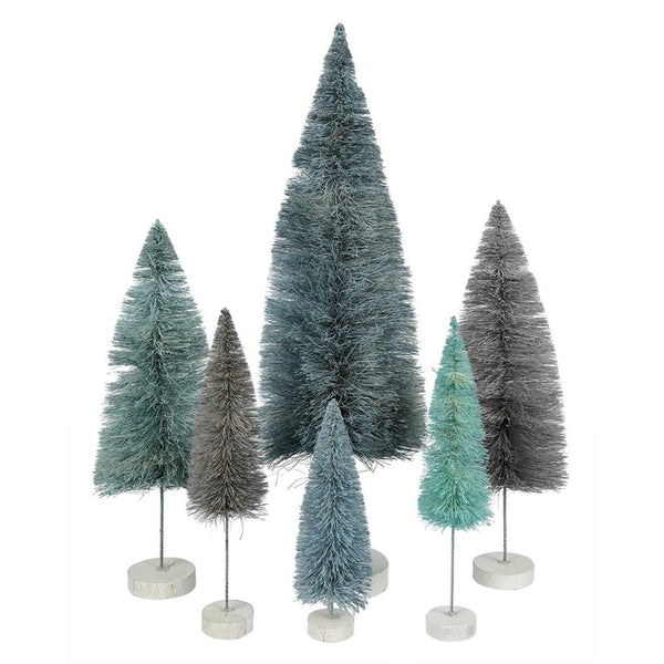 Spectrum Rainbow Trees - Winter Blue