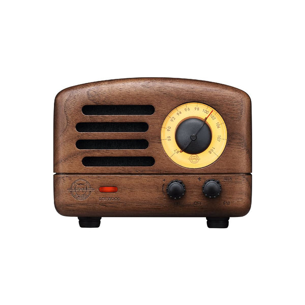 OTR Walnut Wood Bluetooth Speaker With Duffle Bag