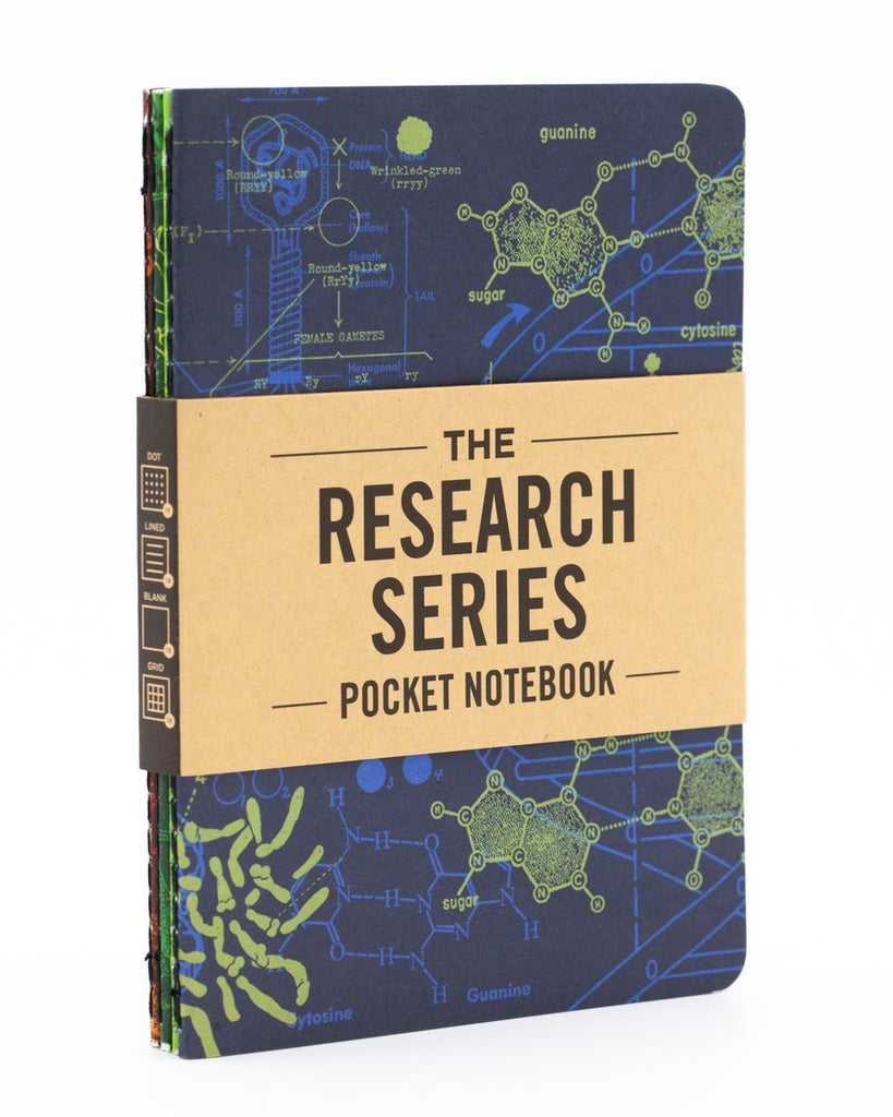 Lab Science Pocket Notebooks 4-Pack