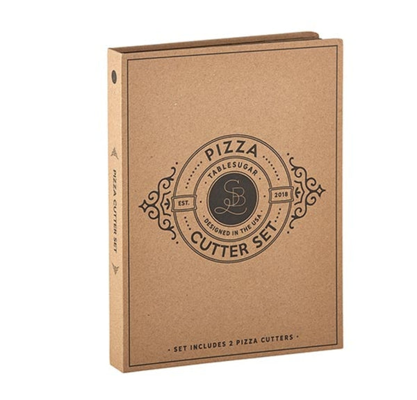 Cardboard Book Set - Pizza Cutter