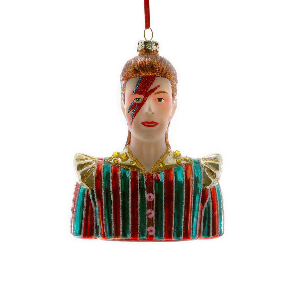 Bowie Christmas Ornament