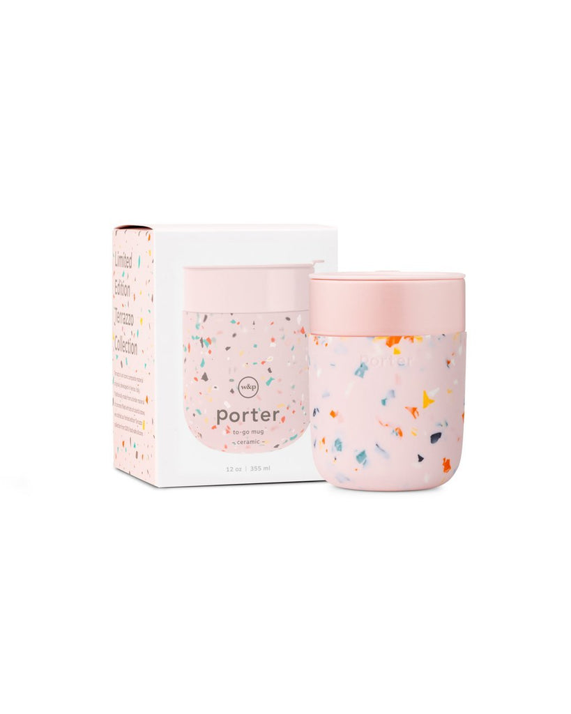 Porter Limited Edition Terrazo To-Go Mug Blush
