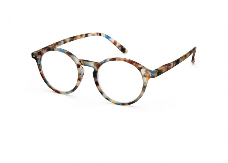 Izipizi Reading Glasses #D Blue Tortoise