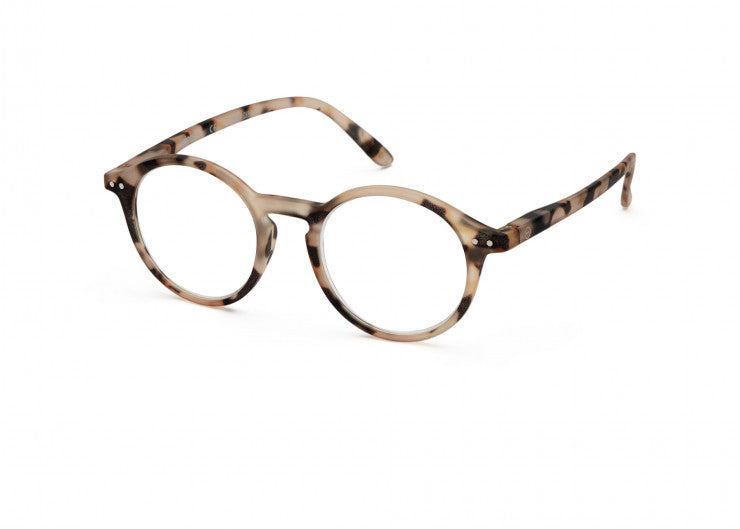 Izipizi Reading Glasses #D Light Tortoise