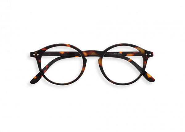 Izipizi Reading Glasses #D Tortoise
