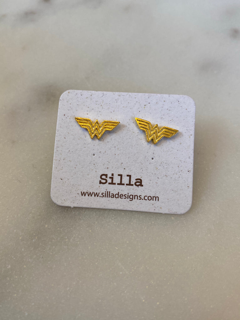 Wonder Woman Stud Earrings