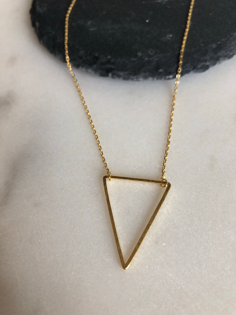 Triangle Big Necklace