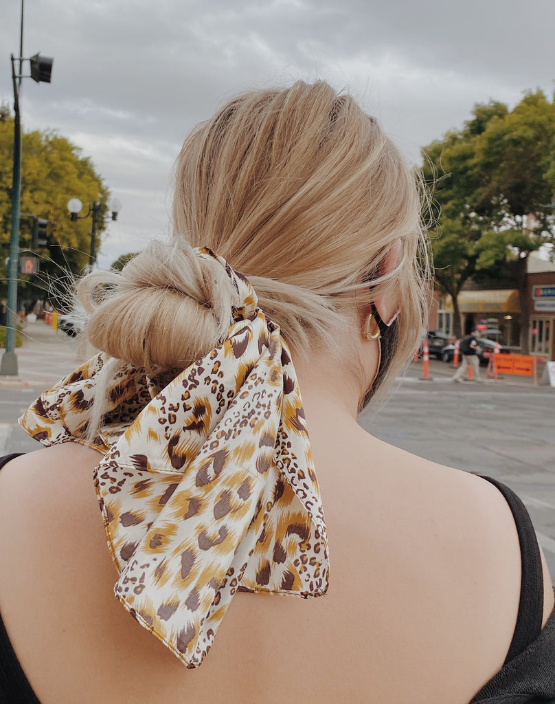 Hair Scarf- Animal Print