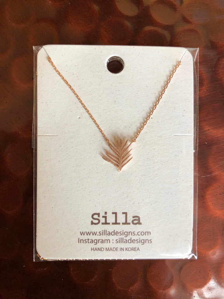 Palm Leaf Necklace