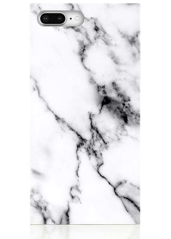 White Marble Case iPhone 8 Plus 7 Plus
