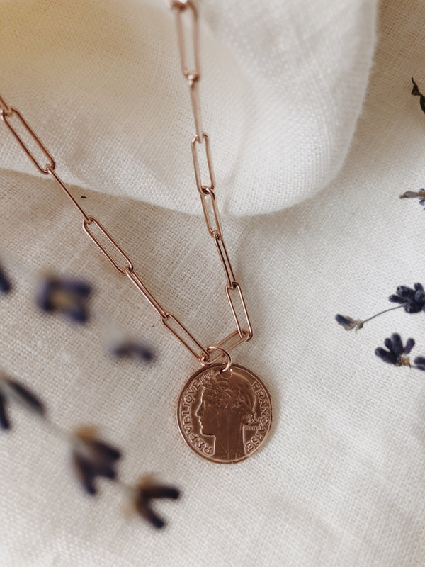 Alex Chain & Coin Necklace
