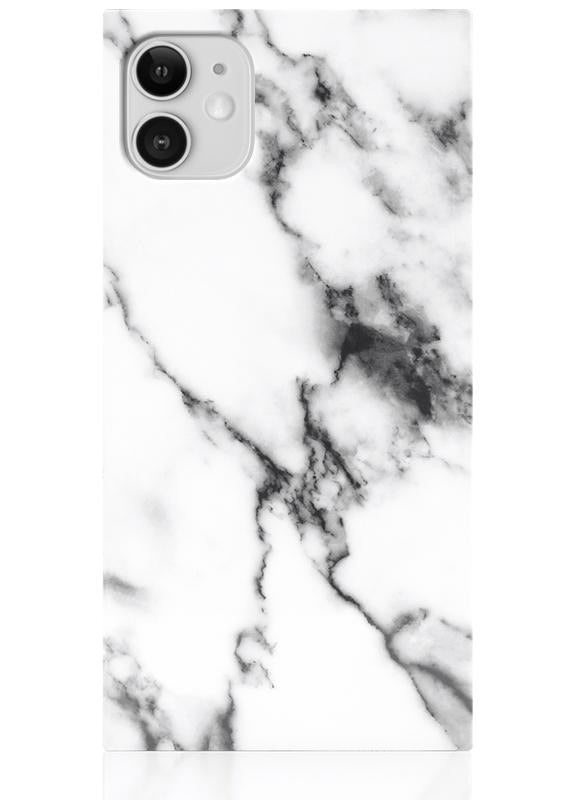 White Marble Case iPhone 11