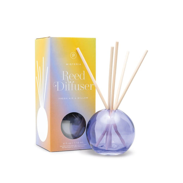 Realm Bubble Glass Diffuser Wisteria