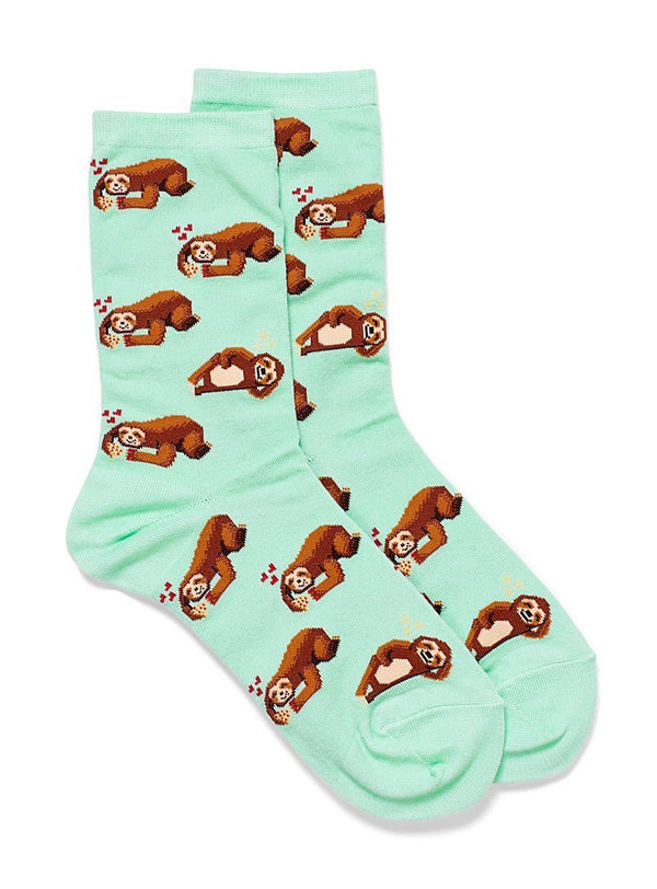 Hot Sox Women - Sloths In Love Socks