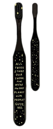 Wide Handle Toothbrush - All Those Stars