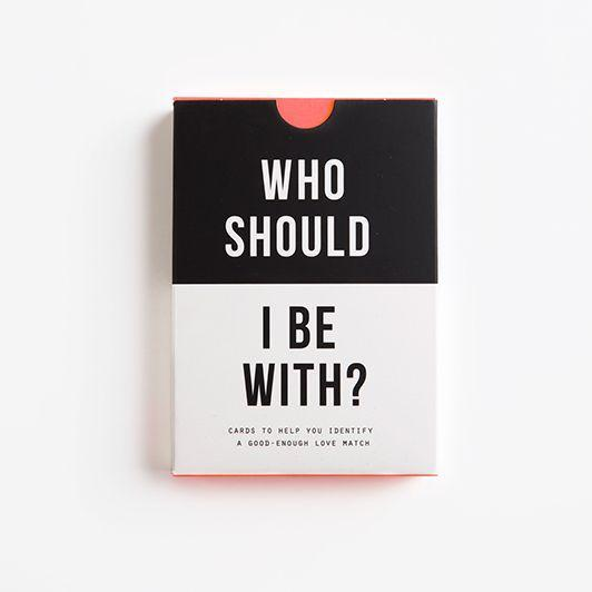 Card Game - Who Should I Be With