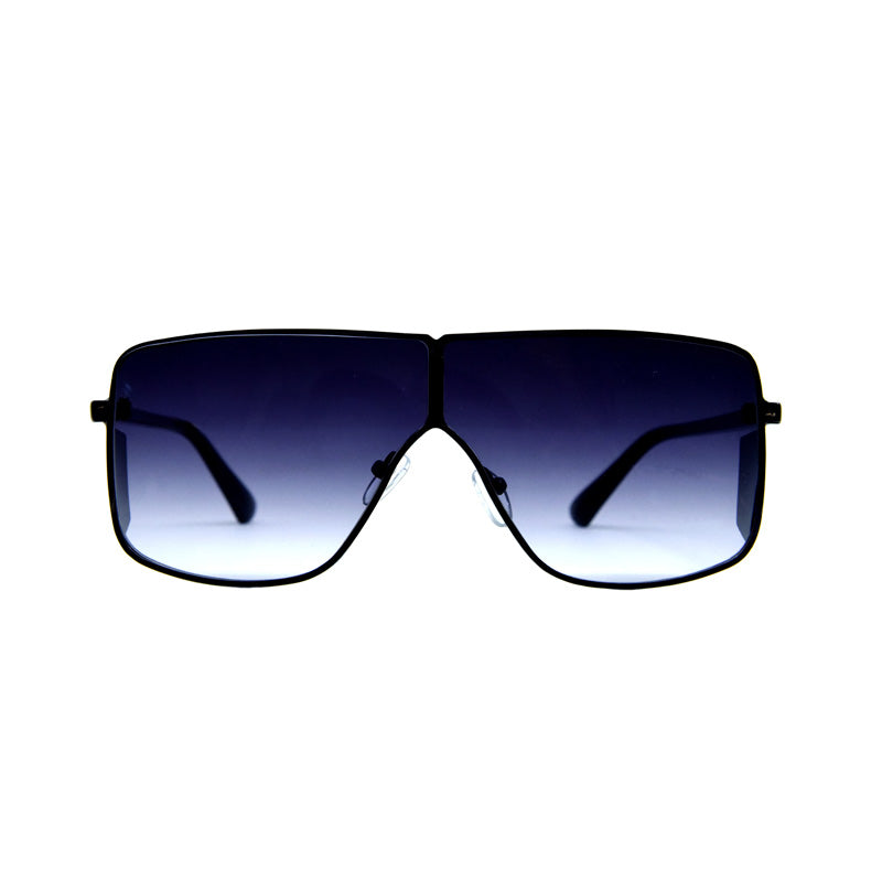 Credito SB101 Black Square Sunglasses
