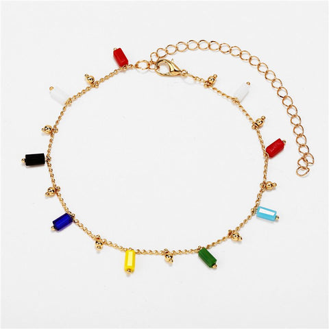 Bohemian Acrylic  Anklets for Women lovers